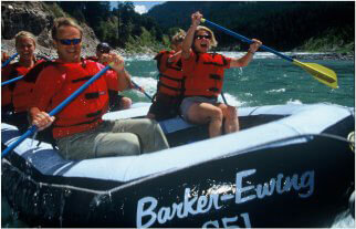 Barker and Ewing Whitewater packages