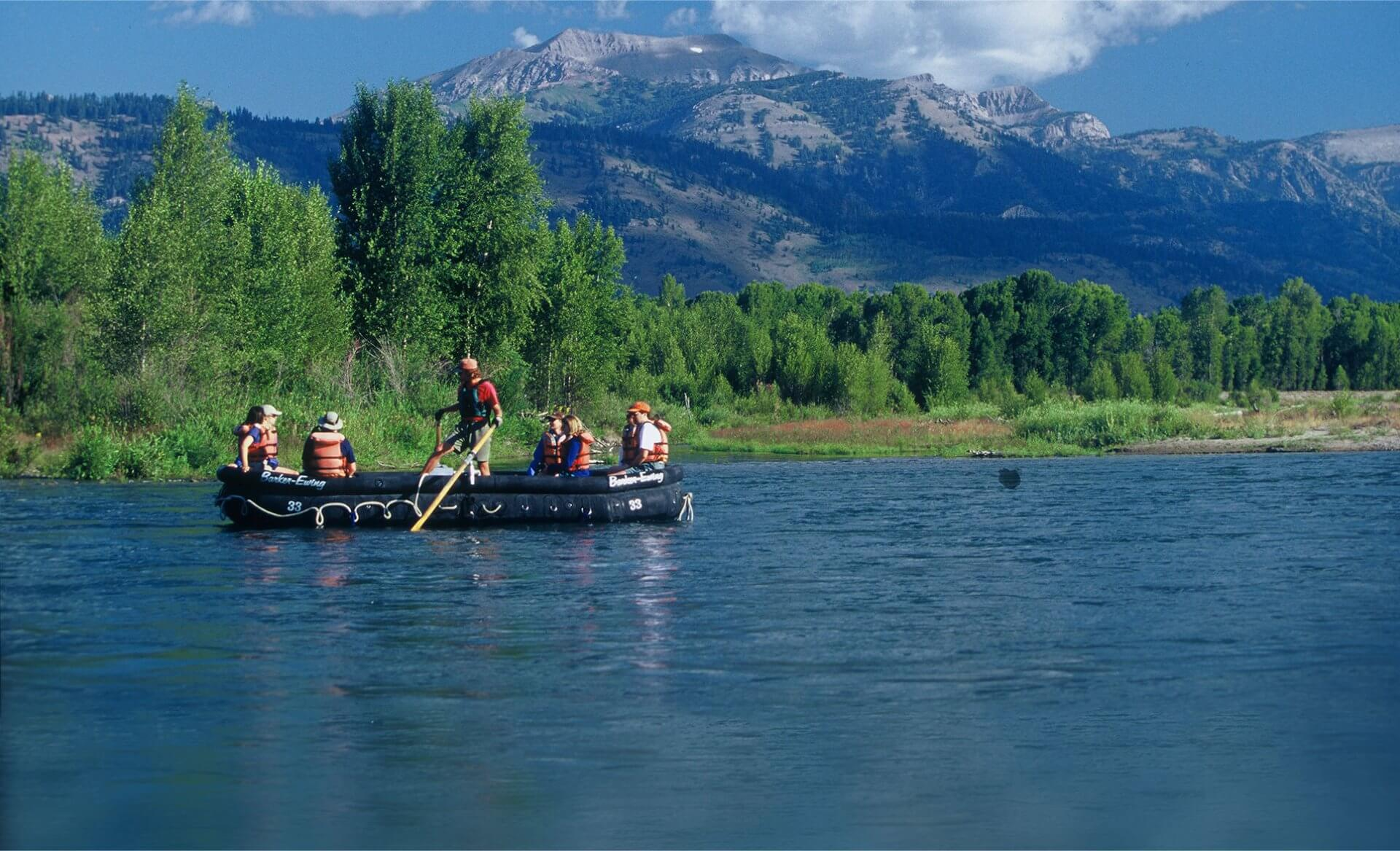 Jackson Hole Rafting Trip Packages