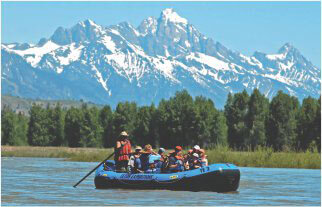 Teton Expeditions Whitewater Floats Trip Packages